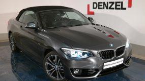 BMW 218i Cabrio F23 B38