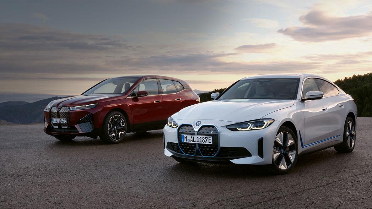BMW iX und BMW i4